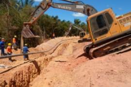 Obras Rurais de dutos de Gas Natural